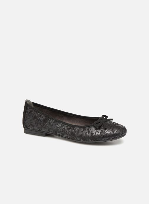 Ballerines Jana shoes PANAMA Noir vue détail/paire