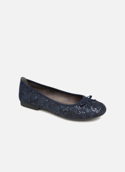 Ballerines Jana shoes PANAMA Bleu vue détail/paire