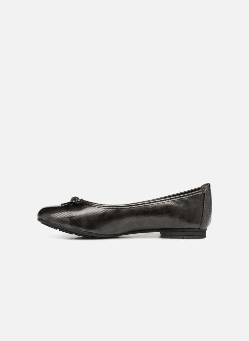 Ballerines Jana shoes PANAMA Noir vue face