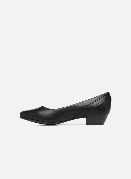 Ballerines Jana shoes NALA Noir vue face