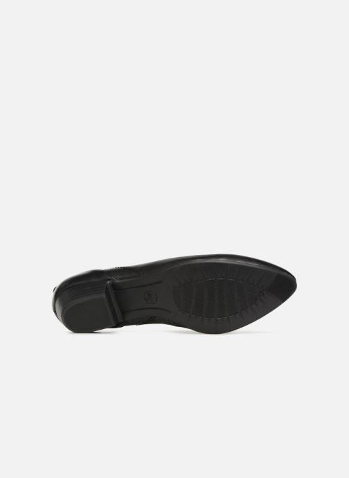 Ballerines Jana shoes NALA Noir vue haut