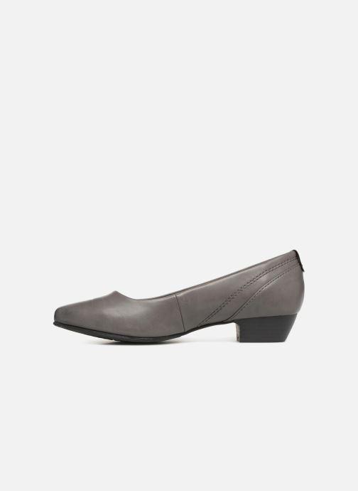 Ballerina's Jana shoes NALA Grijs voorkant