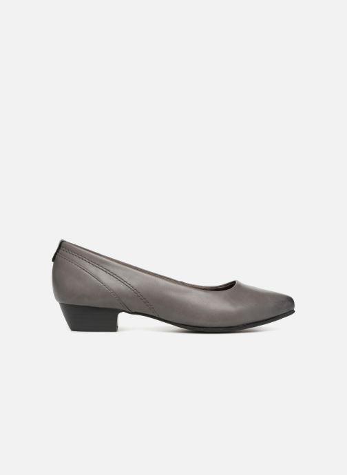 Ballerinas Jana shoes NALA grau ansicht von hinten