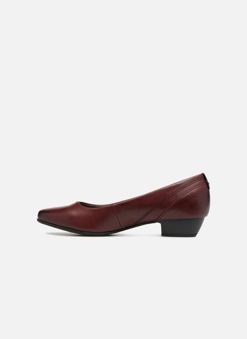 Ballerines Jana shoes NALA Bordeaux vue face