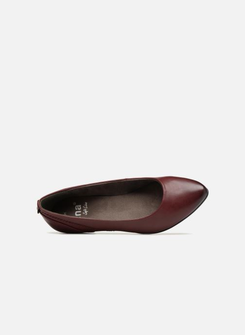 Ballerines Jana shoes NALA Bordeaux vue gauche