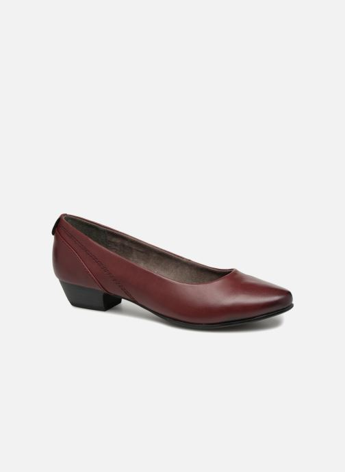 Ballerines Jana shoes NALA Bordeaux vue détail/paire
