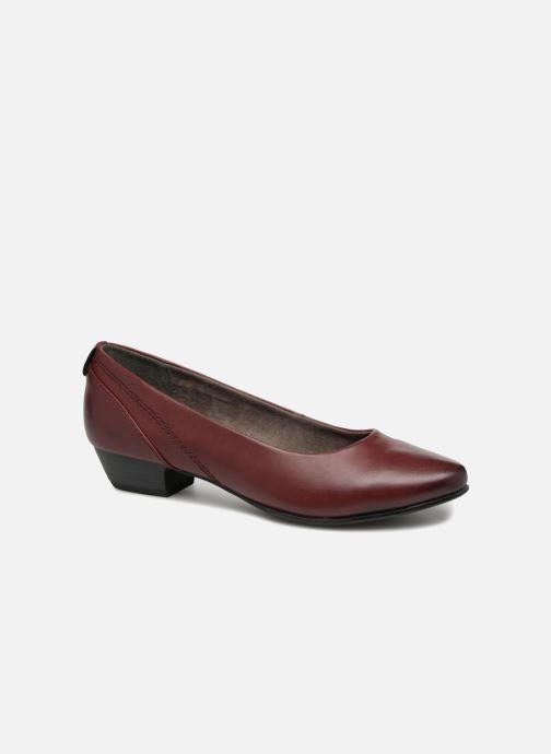 Ballerines Jana shoes NALA Bordeaux vue détail/paire