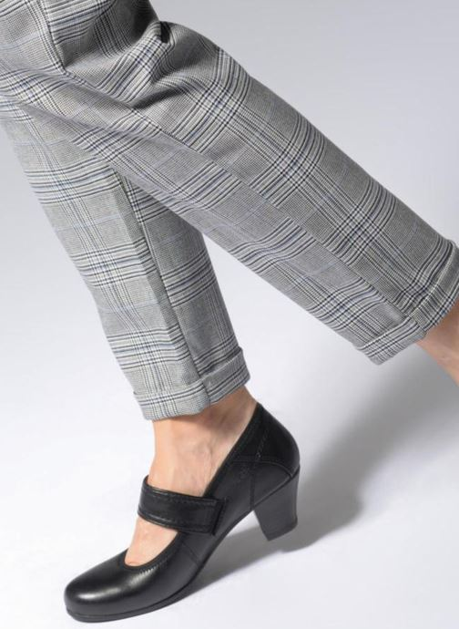Escarpins Jana shoes LUGA Noir vue bas / vue portée sac