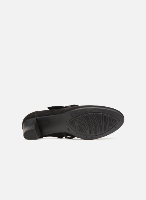 High heels Jana shoes ABURA Black view from above