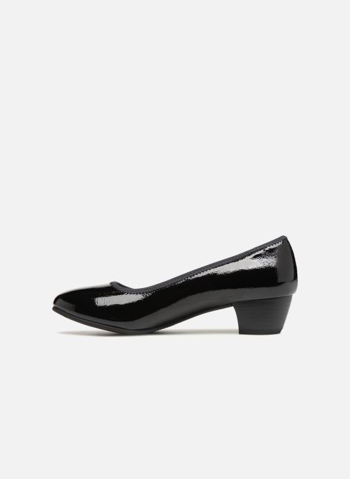 High heels Jana shoes ZATORA Black front view