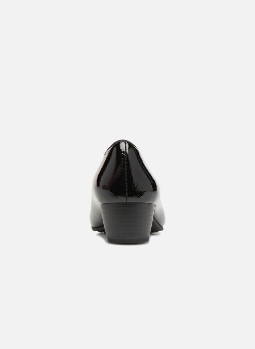 High heels Jana shoes ZATORA Black view from the right