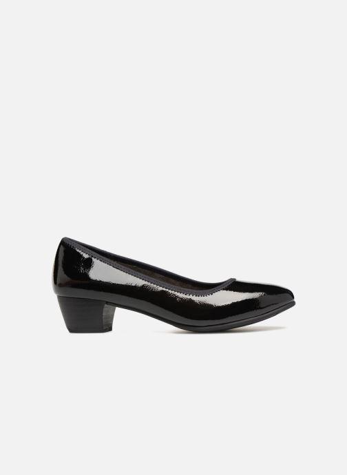 High heels Jana shoes ZATORA Black back view
