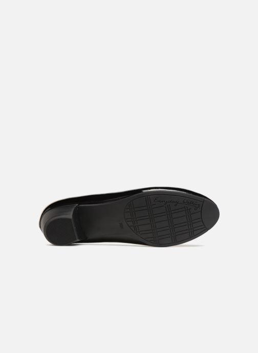 High heels Jana shoes ZATORA Black view from above