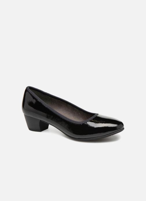High heels Jana shoes ZATORA Black detailed view/ Pair view