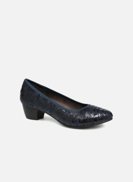 High heels Jana shoes ZATORA Blue detailed view/ Pair view