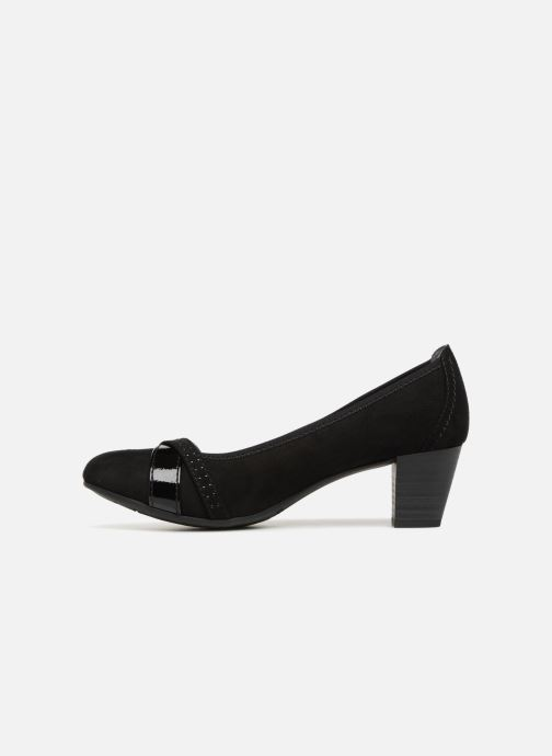 High heels Jana shoes KAILIE Black front view
