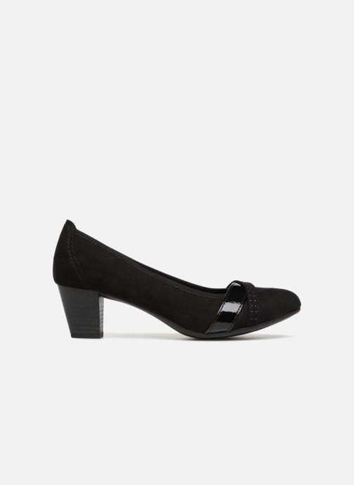 High heels Jana shoes KAILIE Black back view