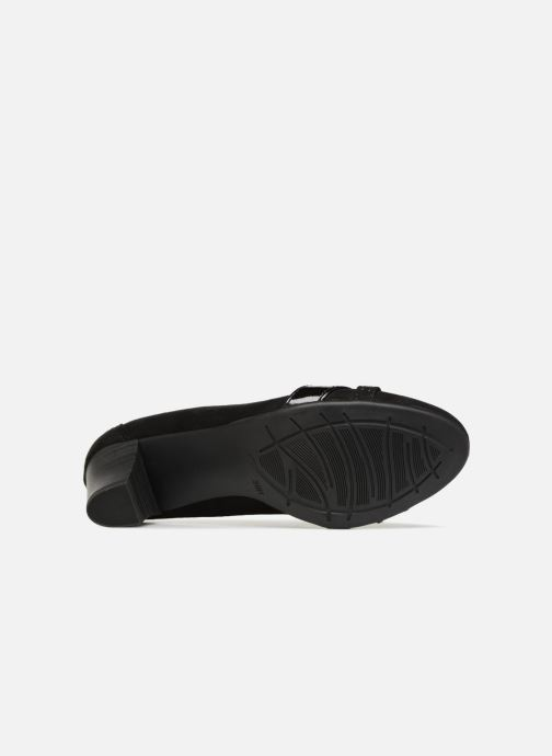 High heels Jana shoes KAILIE Black view from above
