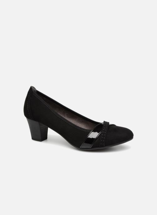 High heels Jana shoes KAILIE Black detailed view/ Pair view