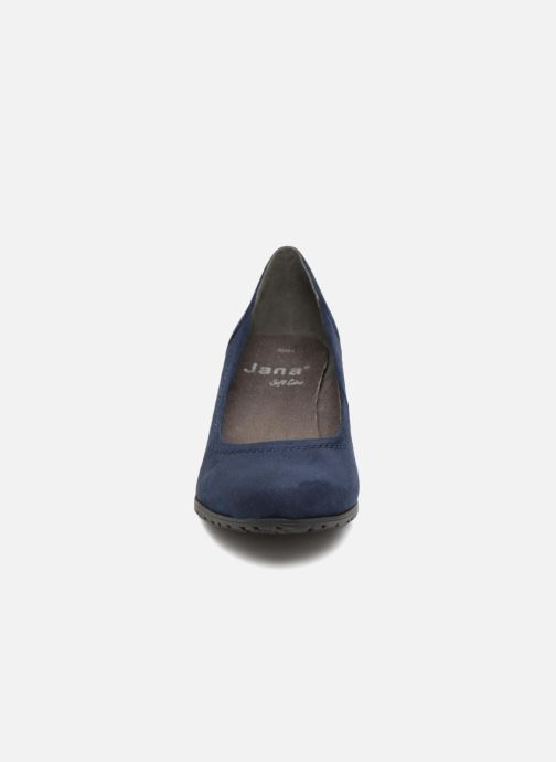 High heels Jana shoes LUBIA Blue model view