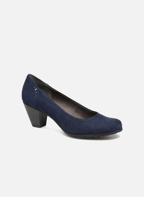 High heels Jana shoes LUBIA Blue detailed view/ Pair view