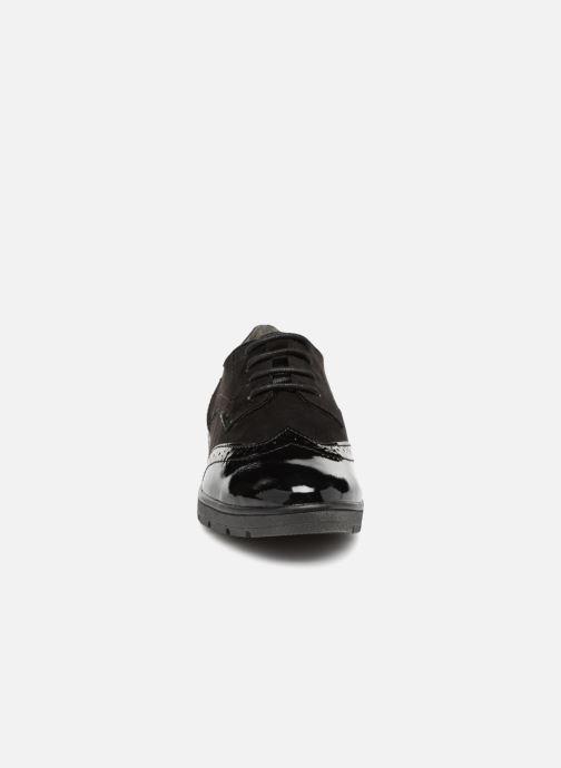 Schnürschuhe Jana shoes MELOC schwarz schuhe getragen
