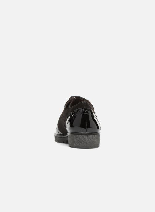 Schnürschuhe Jana shoes MELOC schwarz ansicht von rechts