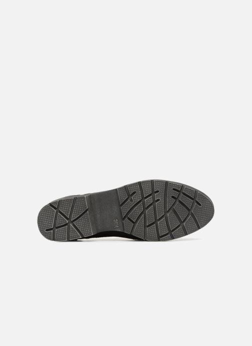 Schnürschuhe Jana shoes MELOC schwarz ansicht von oben