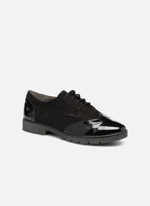 Schnürschuhe Jana shoes MELOC schwarz detaillierte ansicht/modell
