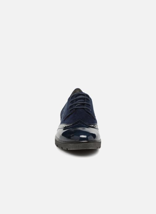 Veterschoenen Jana shoes MELOC Blauw model