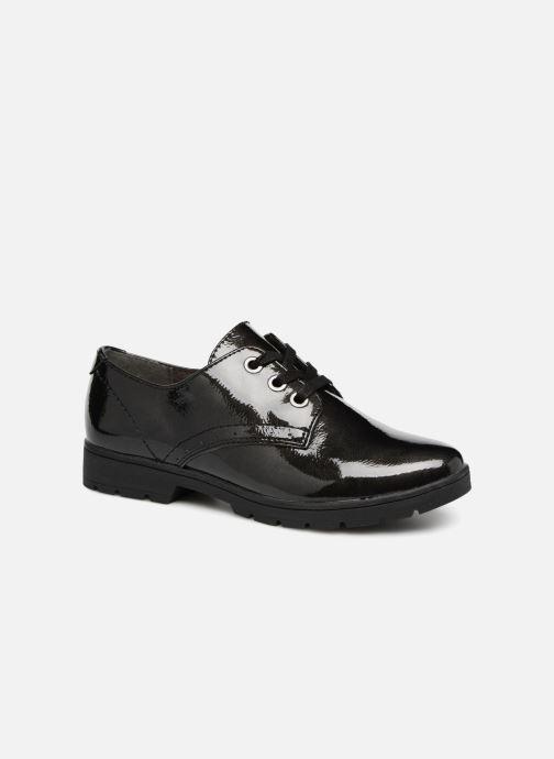 Chaussures à lacets Jana shoes MELOC Noir vue détail/paire