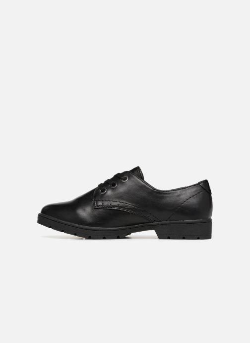 Lace-up shoes Jana shoes MELOC Black front view