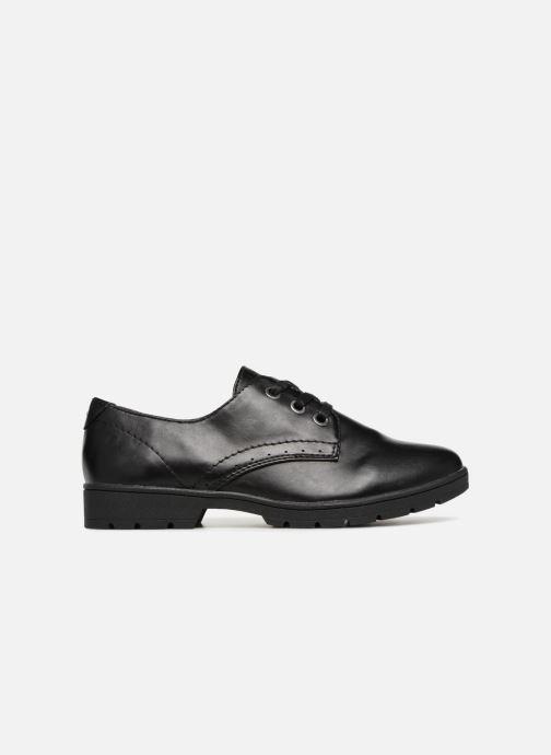 Lace-up shoes Jana shoes MELOC Black back view