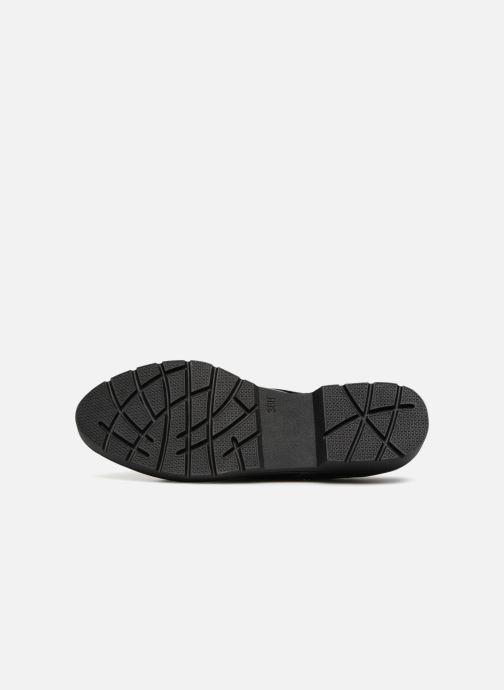 Chaussures à lacets Jana shoes MELOC Noir vue haut