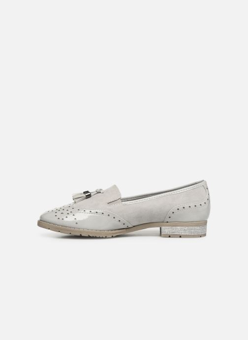 Mocassins Jana shoes MOUNIA Gris vue face