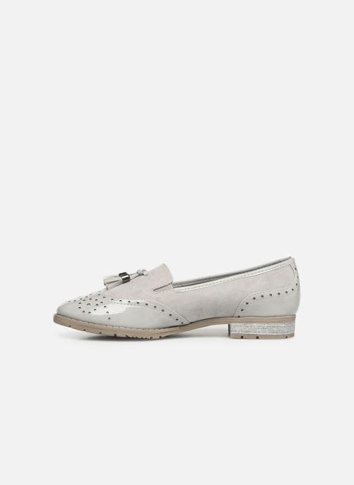 Mocassins Jana shoes MOUNIA Gris vue face