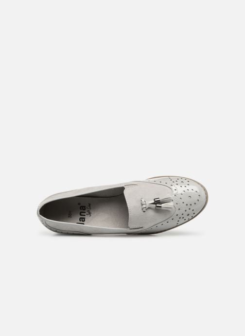Mocassins Jana shoes MOUNIA Gris vue gauche