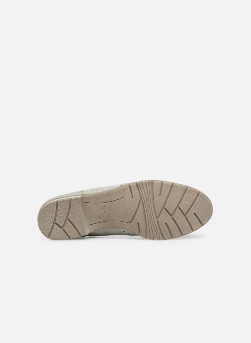 Mocassins Jana shoes MOUNIA Gris vue haut