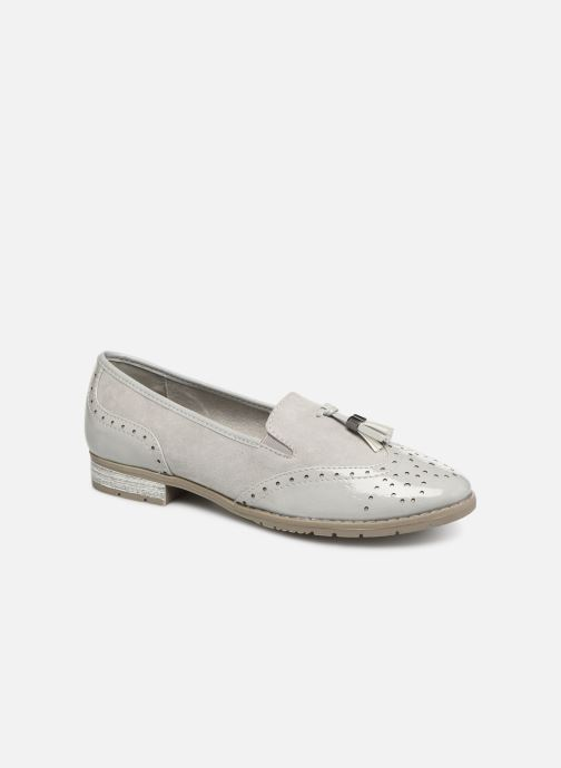 Mocassins Jana shoes MOUNIA Gris vue détail/paire