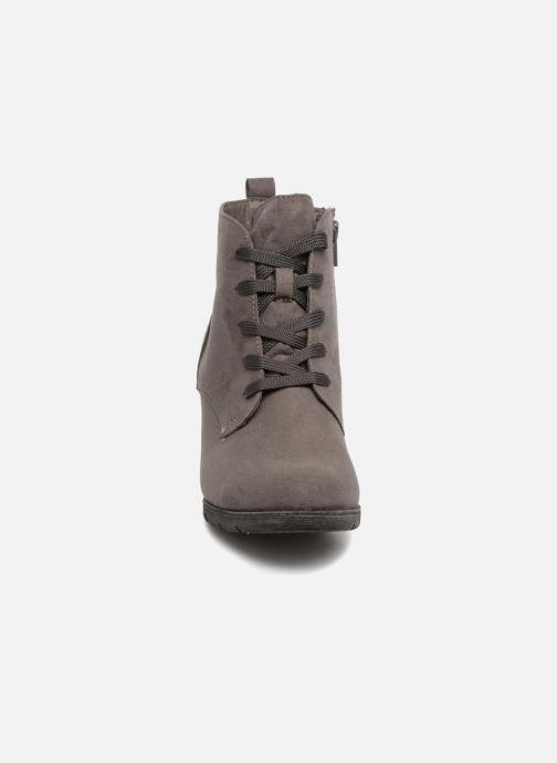 Bottines et boots Jana shoes SANDIE Gris vue portées chaussures