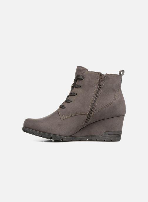 Bottines et boots Jana shoes SANDIE Gris vue face