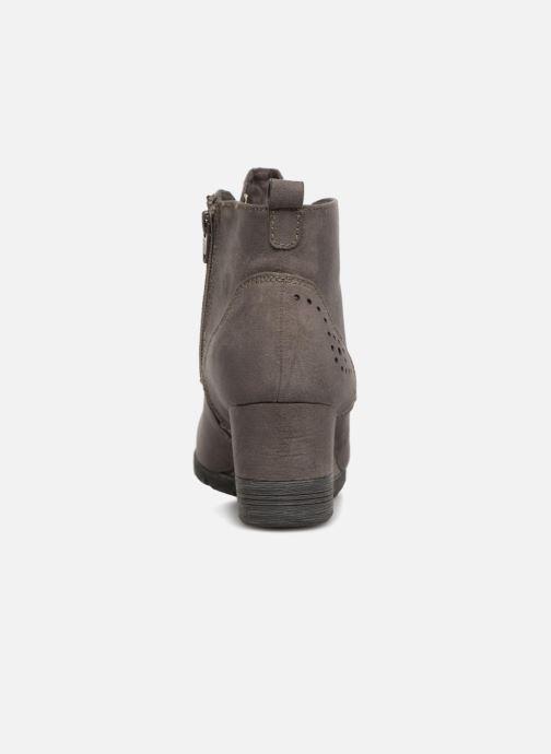 Jana Shoes 359023 amp; Stiefeletten Boots Sandie grau 6vazrx6qw