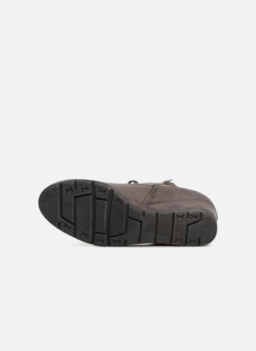 Bottines et boots Jana shoes SANDIE Gris vue haut