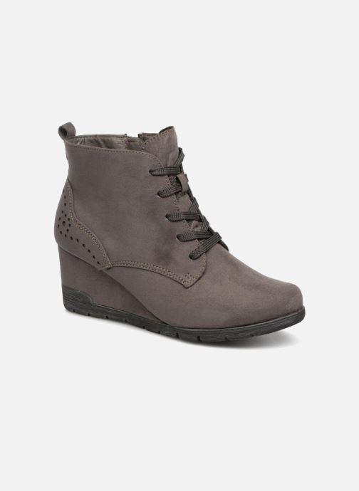 Bottines et boots Jana shoes SANDIE Gris vue détail/paire