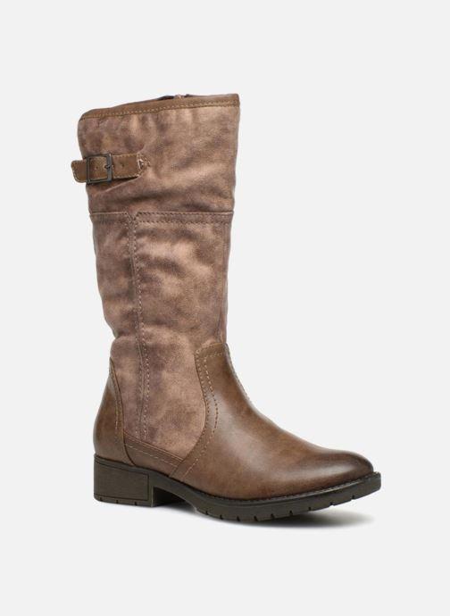 Bottes Jana shoes SUSINA Beige vue détail/paire