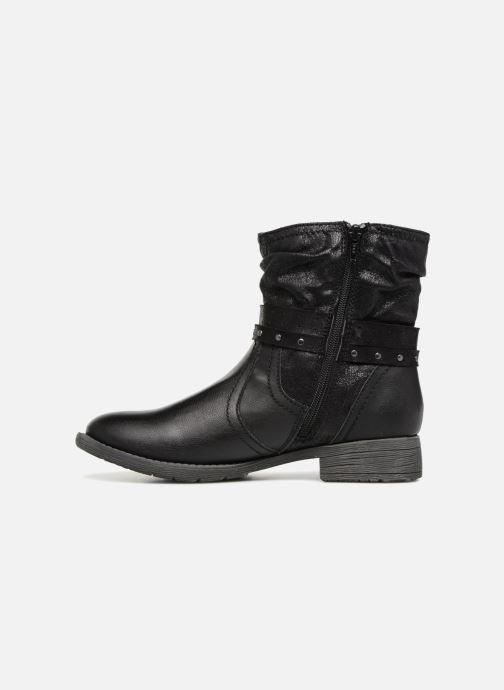 Ankle boots Jana shoes SANDRA Black front view