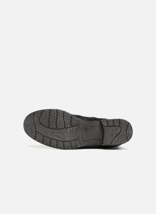 Bottines et boots Jana shoes SANDRA Noir vue haut