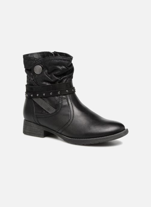 Ankle boots Jana shoes SANDRA Black detailed view/ Pair view