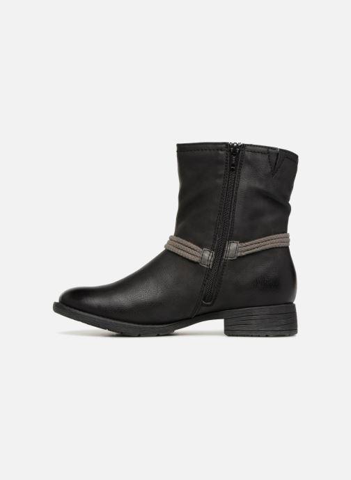 Boots en enkellaarsjes Jana shoes SAVIE Zwart voorkant