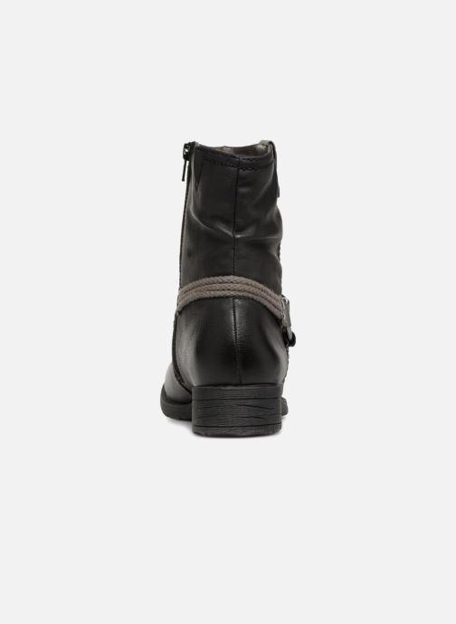 Boots en enkellaarsjes Jana shoes SAVIE Zwart rechts